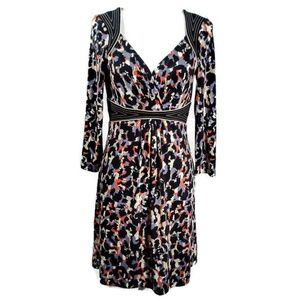 BCBGMaxAzria Camouflage Knee Length Dress Size M